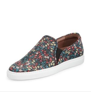 Tabitha Simmons Floral Slip on Sneakers Huntington